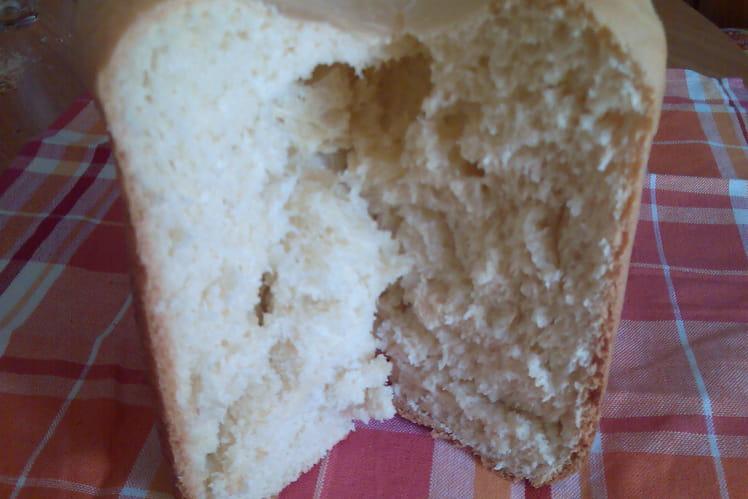 Brioche allégée en machine à pain