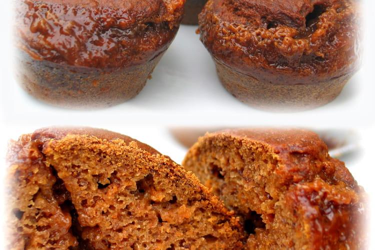 Muffins au potiron et au caramel au beurre salé