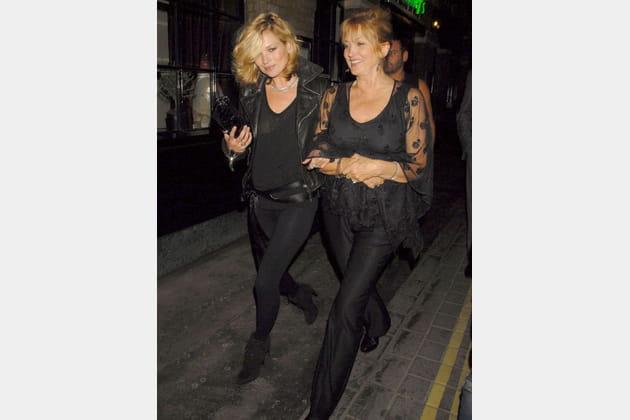 Kate Moss et sa mère Linda Rosina Shepherd