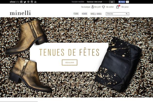 Le e-shop de Minelli