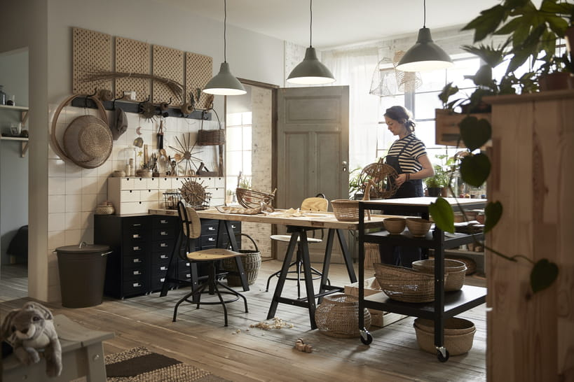 Les images du catalogue et futures collab d ikea