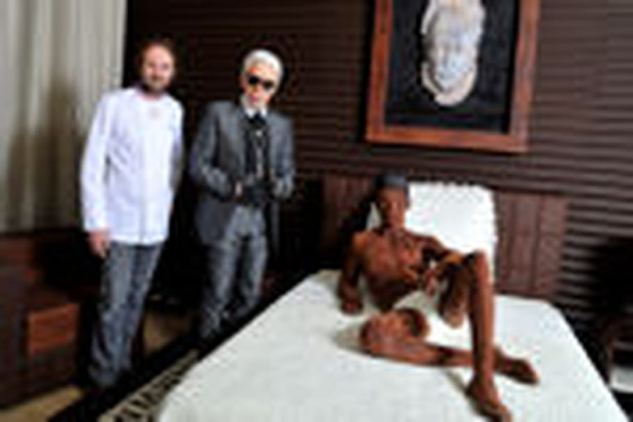 Une suite royale en chocolat by Karl Lagerfeld