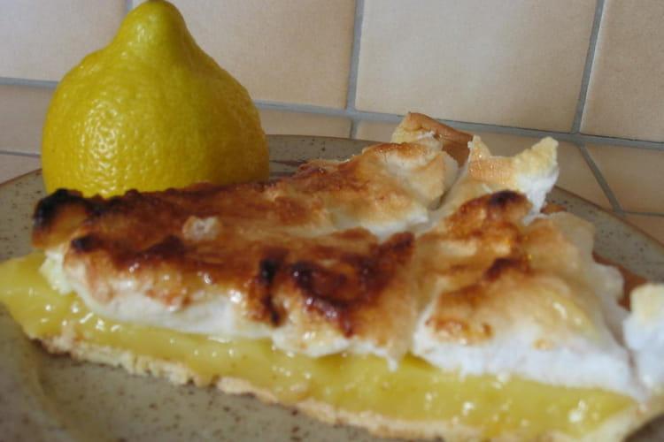 Tarte légère au citron meringuée