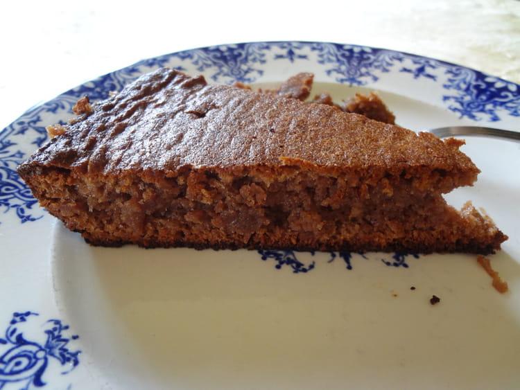 Recette de gateau la cr me de marrons chocolat et noisettes la recette facile - Gateau chocolat creme de marron ...