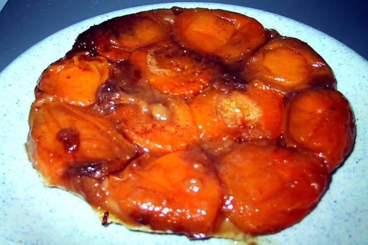 Tatin à l'abricot