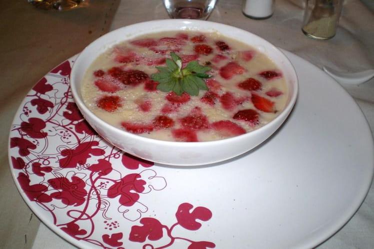 Gourmandise aux fruits rouges