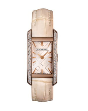 montre nude de burberry