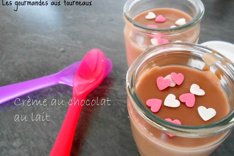 Créme au chocolat au lait