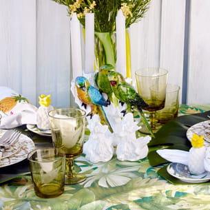 chandelier perroquet couleur de zara home