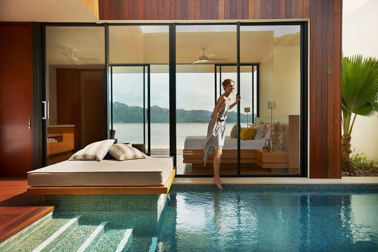 hayman island pool beach