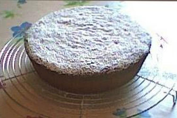 Gâteau chocolat-coco