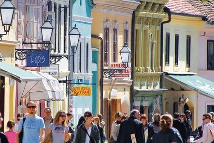 La rue musicale Tkalčićeva