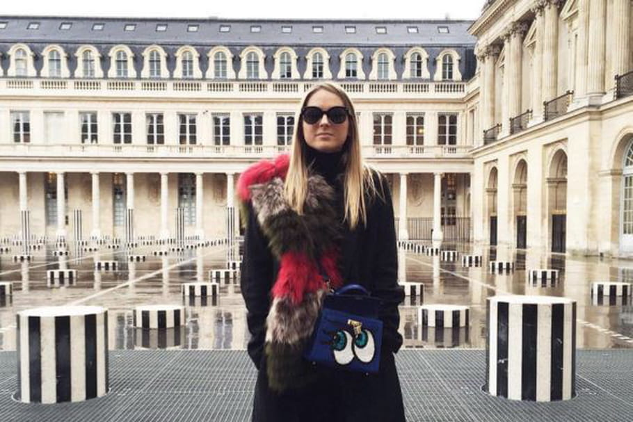 Le look blogueuse de la semaine : Emilie de My Little Fashion Diary en mode fashion week