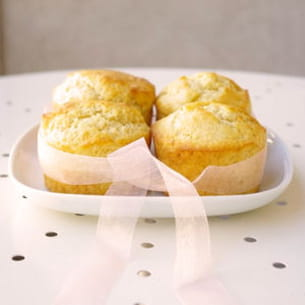 muffins surprise à la fève tonka