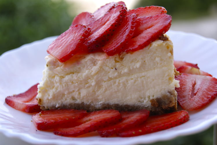 Cheesecake Aux Fraises Fromage Blanc Et Mascarpone
