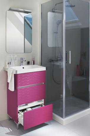 meuble sous vasque mini one de lapeyre. Black Bedroom Furniture Sets. Home Design Ideas