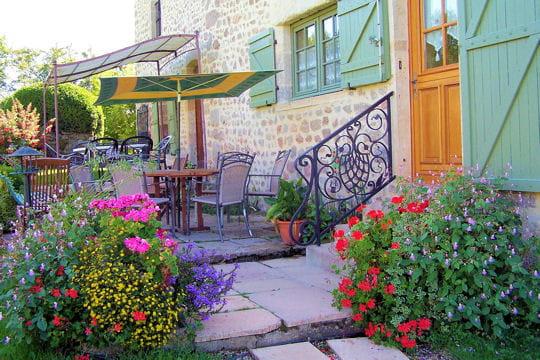 Terrasse couverte des exemples de lecteurs for Deco terrasse jardin