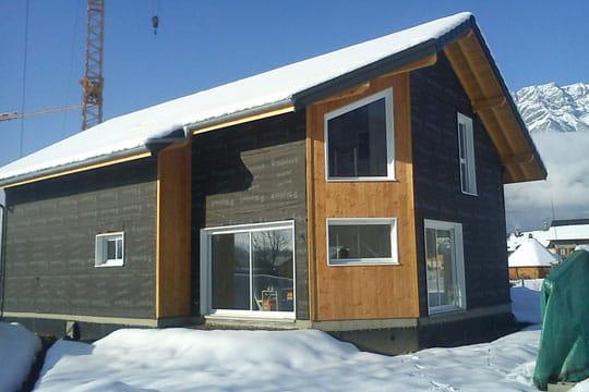 Maison en bois isolante