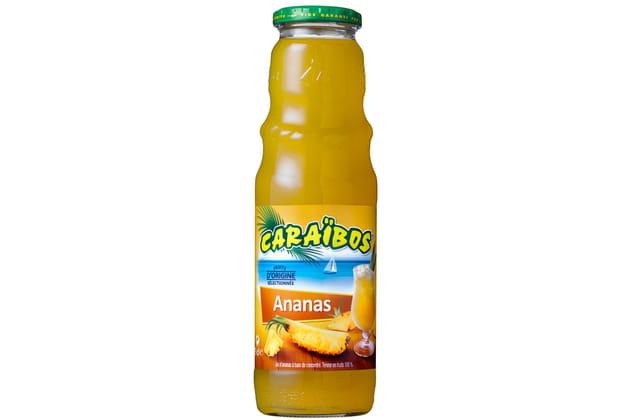 Le jus ananas de Caraïbos