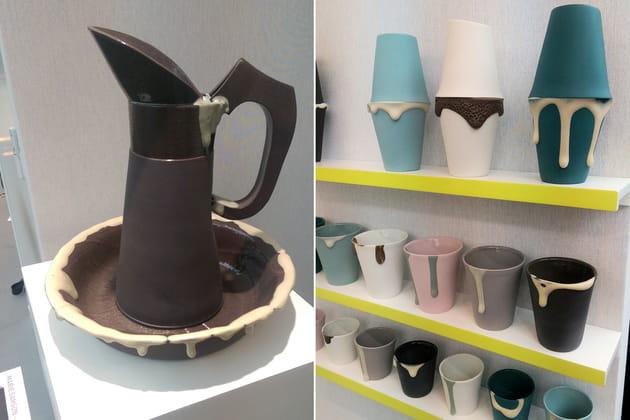 Vaisselle en porcelaine de Marie Samson