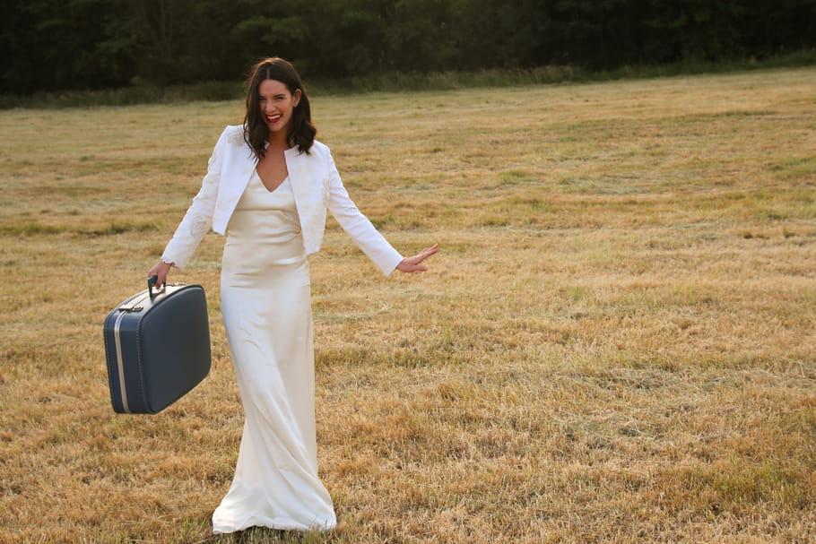 Boléro de mariage: l'atout charme de la mariée