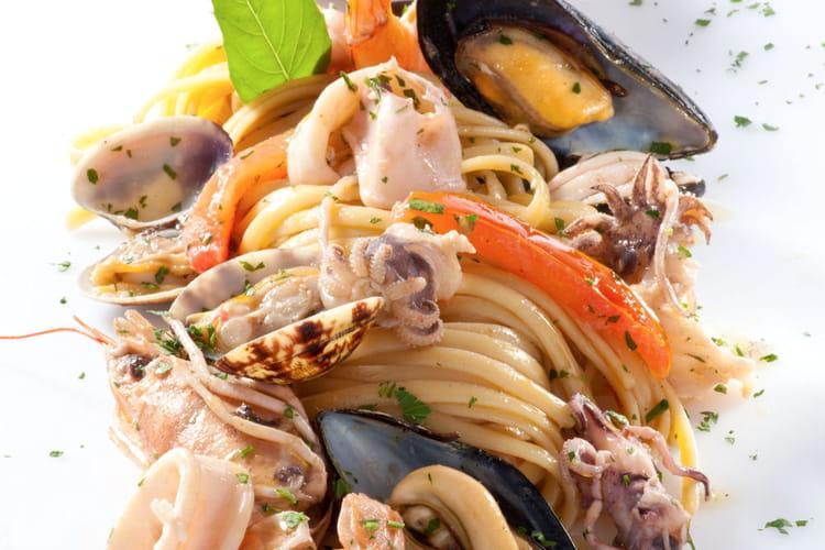Linguine aux fruits de mer
