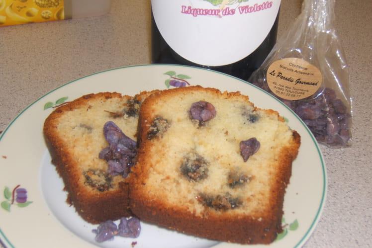 Cake à la violette