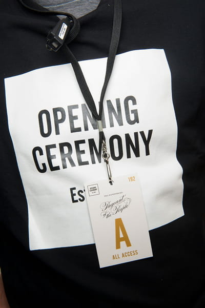 Opening Ceremony (Backstage) - Printemps-été 2017