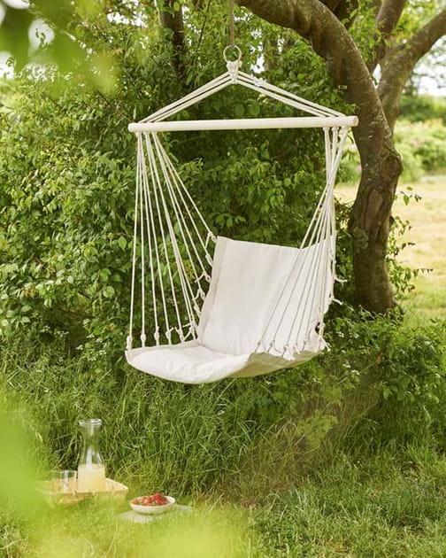 L'objet du désir: la chaise hamac de Sostrene Grene