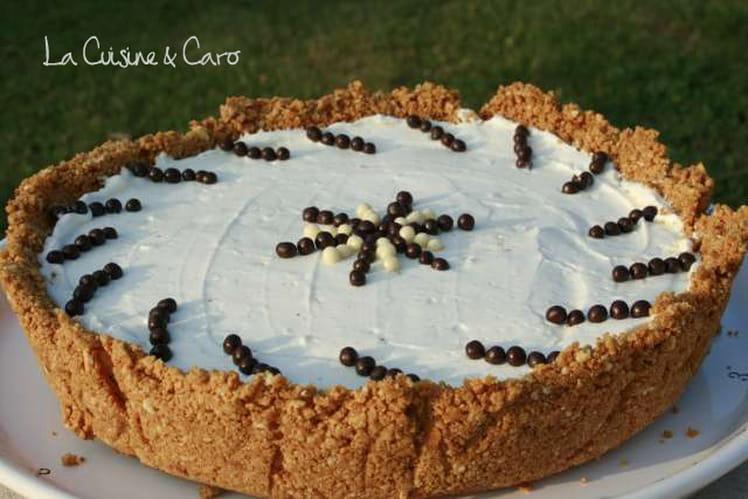 Cheesecake vanille sans cuisson