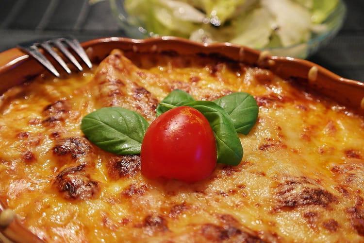 Les lasagnes authentiques italiennes de Francesca