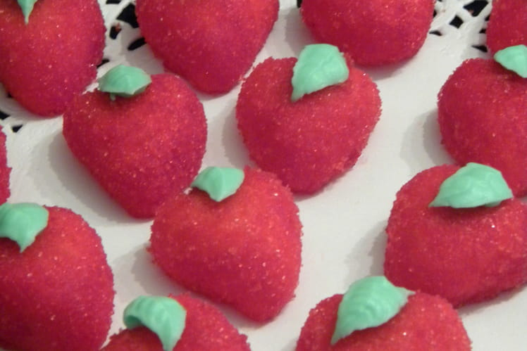 Mes fraises type Tagada