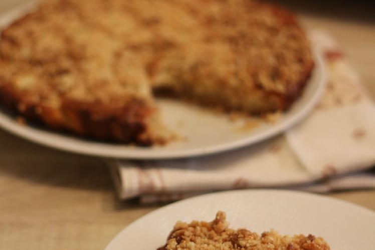 Gâteau-crumble aux pommes