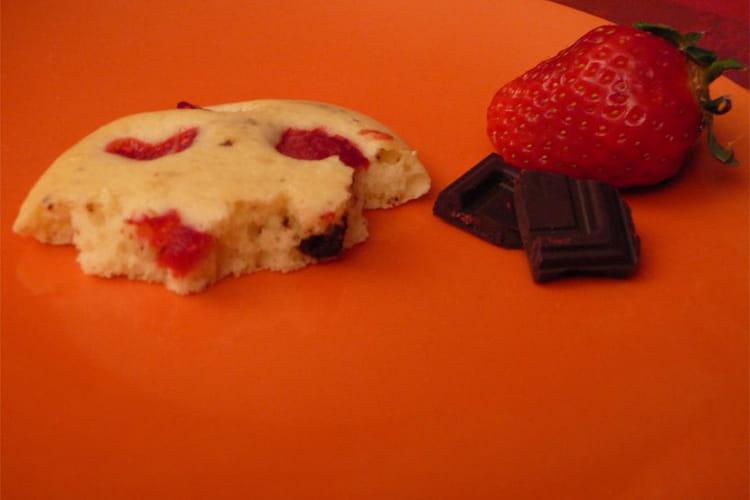 Cookies fruits-chocolat