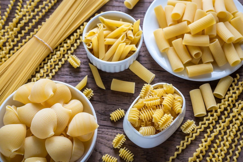 Les différents types de pâtes