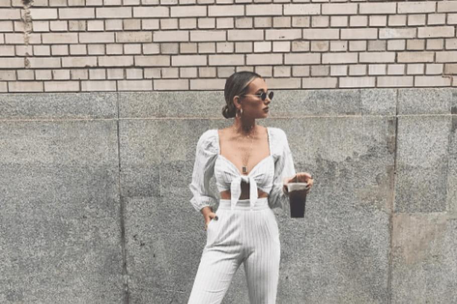 Le look blogueuse de la semaine: Danielle Bernstein tire un trait fashion