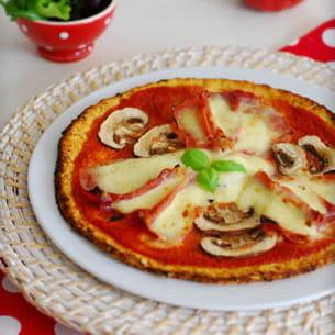 pizza légère sans gluten