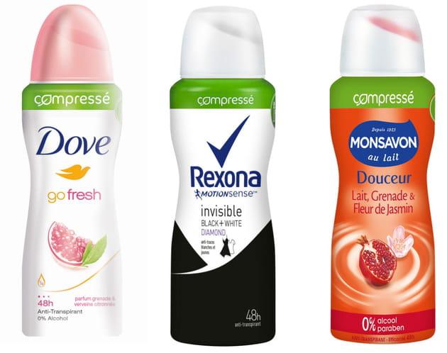 La révolution des déodorants Compressés par Unilever