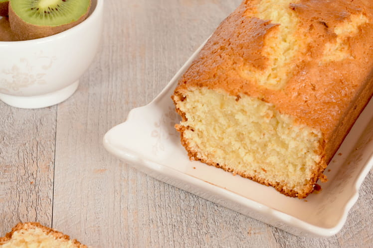 Gâteau au yaourt et au citron vert