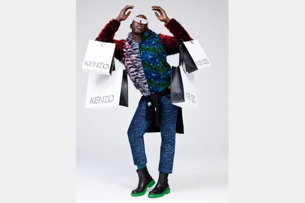 Kenzo X H&M, look 22