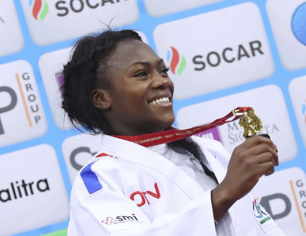 Clarisse Agbegnenou, une Judoka en or