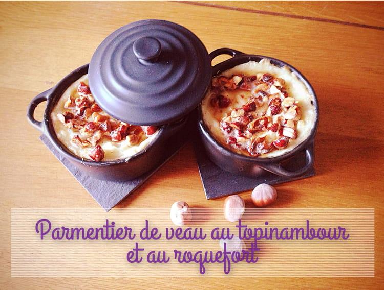 Recette de parmentier de veau au topinambour et au roquefort la recette facile - Cuisiner les topinambour ...