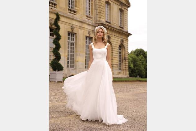 Robe de mariée Heidi, Marie Laporte 2020