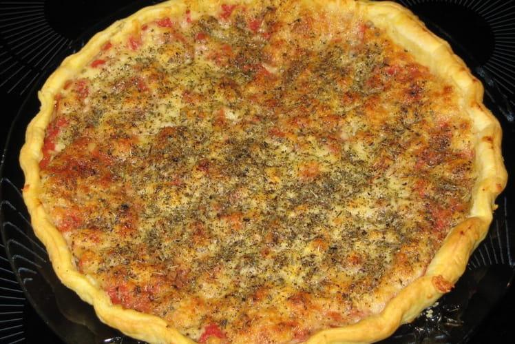 Pizza façon tarte
