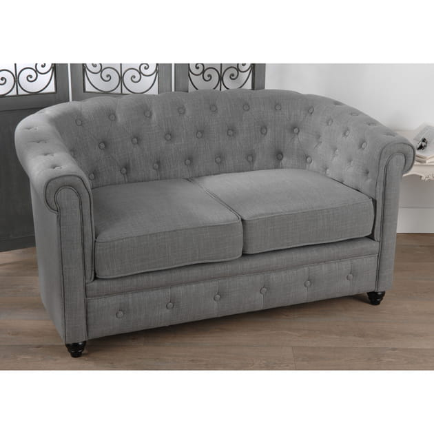 Banquette Sean design Chesterfield de Delamaison