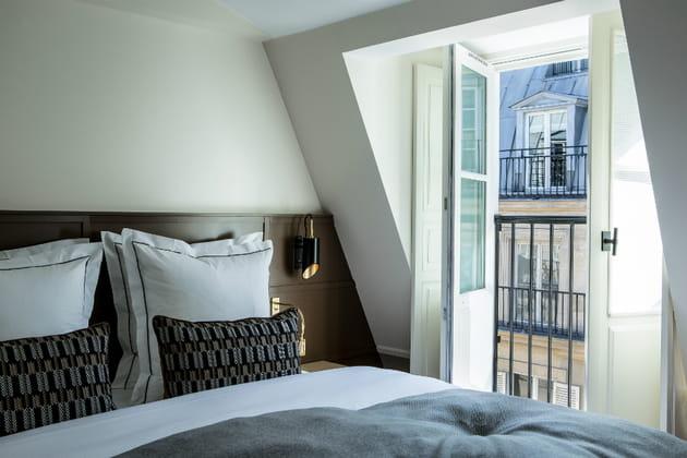 Visite de l'hôtel La Tamise, cocon raffiné parisien