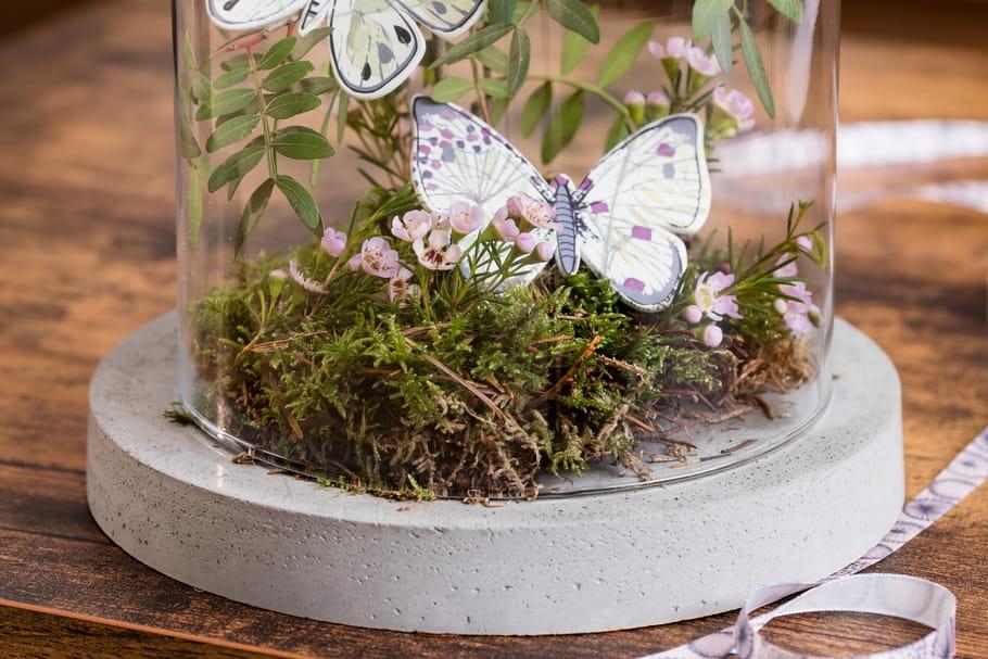 DIY : un socle en béton pour une cloche décorative