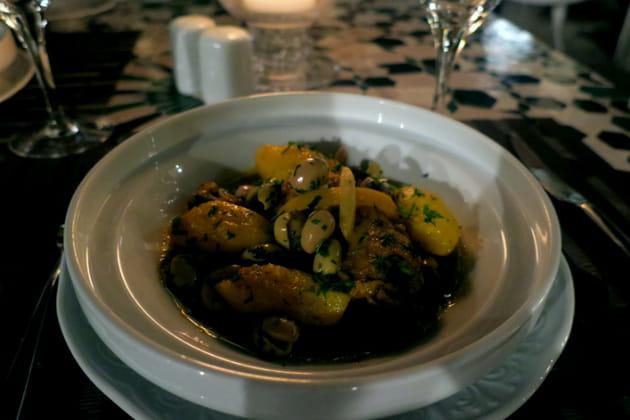 Les succulents plats proposés