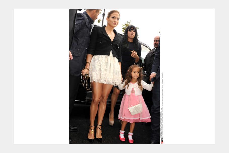 Jennifer Lopez et sa fille Emme