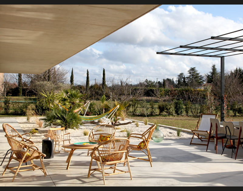 Une terrasse californienne!